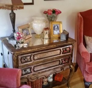 Dresser with Picture Frames on it from ChambreChic